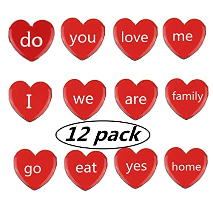 Amazon heart shaped refrigerator magnets map magnets set of heart shaped refrigerator magnets map magnets set of 12 fridge magnets perfect altavistaventures Image collections