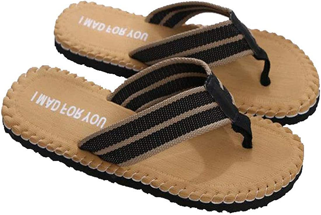 Personality Mens Flip-Flops Open Toe Dual-use Indoor Shower Slippers Outdoor Leisure Beach Sandals Comfortable and Breathable