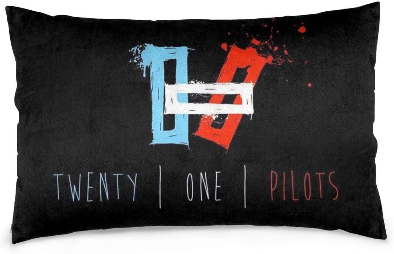 Menhfb Pillowcase Band Twenty One Pilo-ts Pillow Throw Cushion Cover Home Sofa Bed Decoration