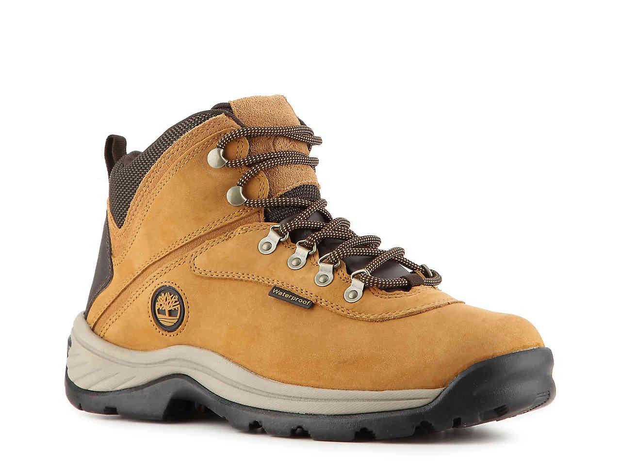 Timberland Men's White Ledge Mid Waterproof Boots, Wheat, 10W
