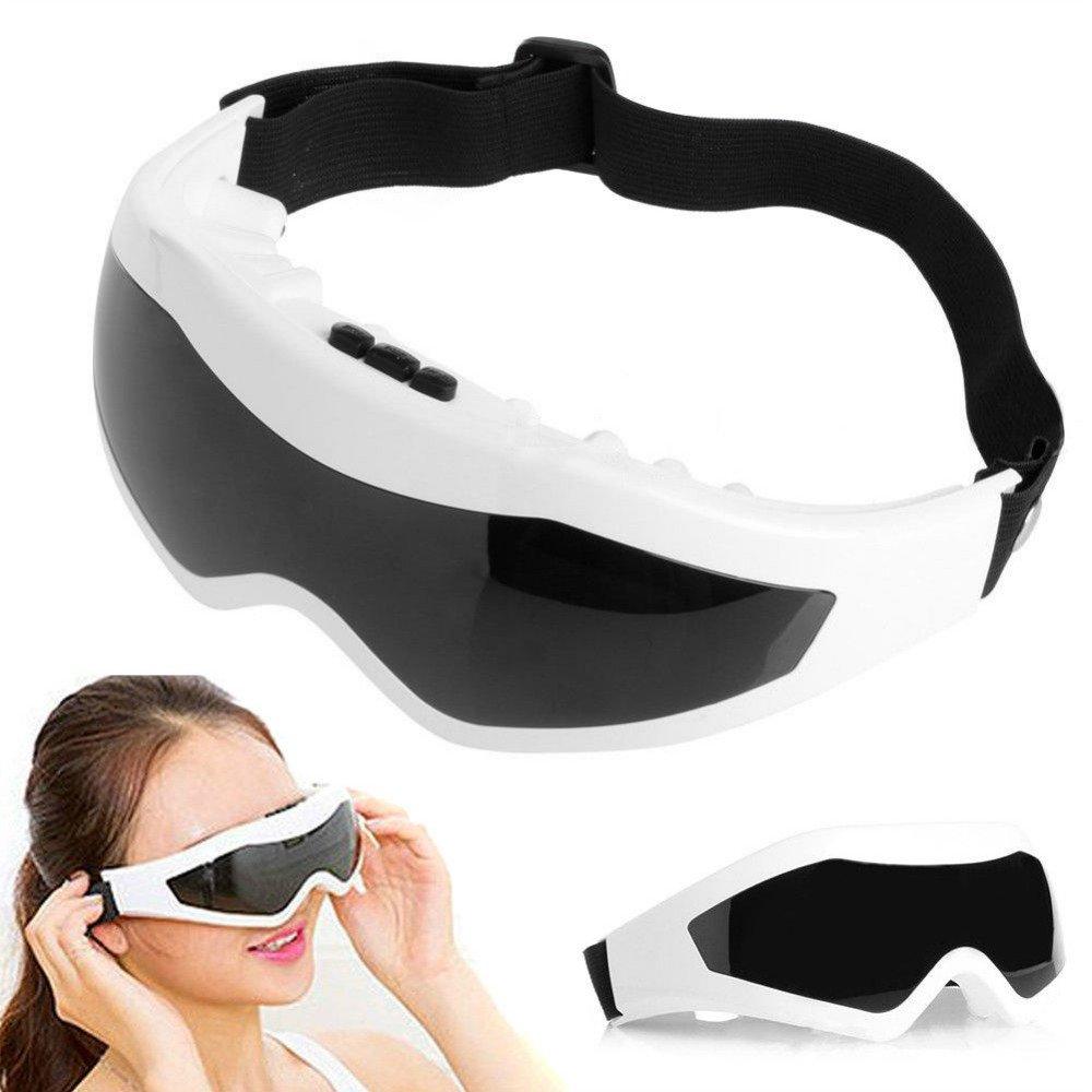 Enshey Electric Eye Massager Magnetic - Vibration Massage Eyes Eye Protection Relaxation Instrument