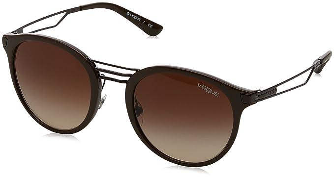 Vogue 0Vo5132S Gafas de sol Brown 52 para Mujer: Amazon.es ...