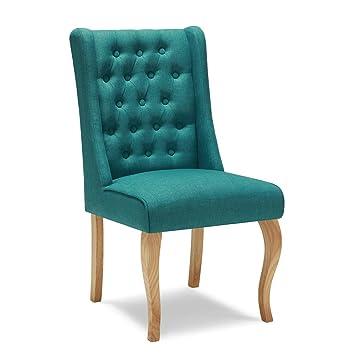 kayaa chaise salle manger style antique chaise en tissu chaise de salonjambes en