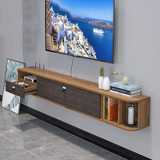 Estante flotante de pared para TV, mueble de TV, unidad de ...