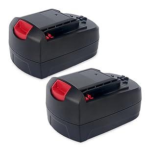 Biswaye 2Pack 18V Battery SB18C SB18A SB18B for Skil 18V Select System Cordless Tools 2810 2888 2895 2897 2898 4570 5850 5995 7305 9350, 3000mAh Ni-Cd