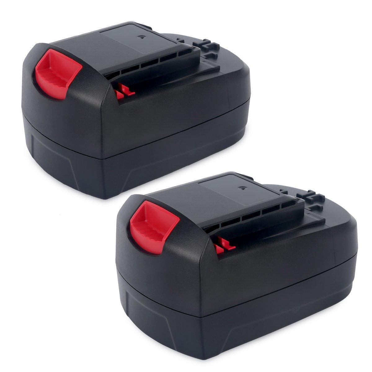 Biswaye 2Pack 18V Battery SB18C SB18A SB18B for Skil 18V Select System Cordless Tools 2810 2888 2895 2897 2898 4570 5850 5995 7305 9350, 3000mAh Ni-Cd by Biswaye (Image #1)