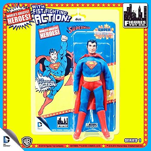 Super Powers Retro 8 Inch Series 1 Action Figures Superman (Retro Action Figures)