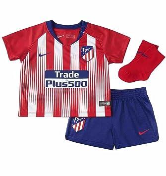 3061bf6a60e84 Nike 2018-2019 Atletico Madrid Home Baby Kit  Amazon.es  Deportes y aire  libre