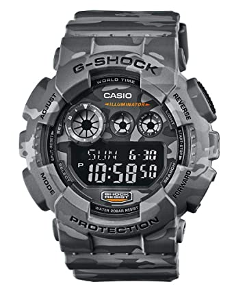 Amazon.com  Casio G Shock GD-120CM-8ER G-Shock Uhr Watch Montre Camo ... e0ae16d847