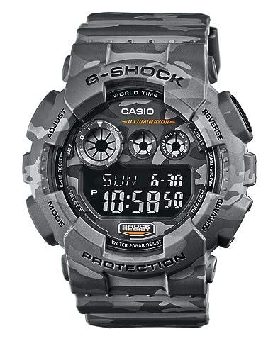 livraison gratuite 8f64a c8c76 Casio G Shock GD-120CM-8ER G-Shock Uhr Watch Montre Camo Pack limited  Edition