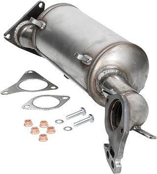 Ecd Germany Kat 129 Dieselpartikelfilter Dpf Ruß Partikelfilter Abgasanlage Mit Montagesatz Länge Mm 610 Auto