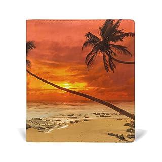 Fajro Flaming cloud Sea Water Jumbo Book cover di dimensioni standard fino a 9x 11in