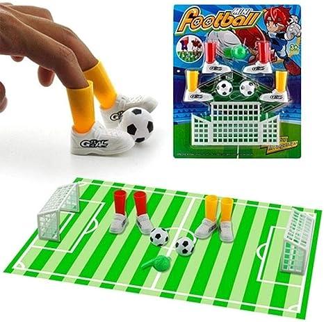 fervory Mini Campo De Fútbol Juego De Mesa Niños Adultos Juego De ...