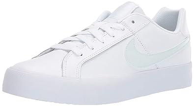 separation shoes add23 a12f6 Nike WMNS Court Royale AC, Chaussures de Tennis Femme, Multicolore  (White Ghost