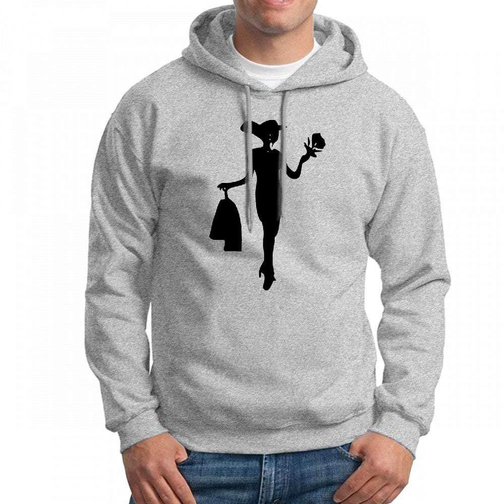 Pretty Lady Long Sleeve for Men Custom Hoodies Sweatshirt