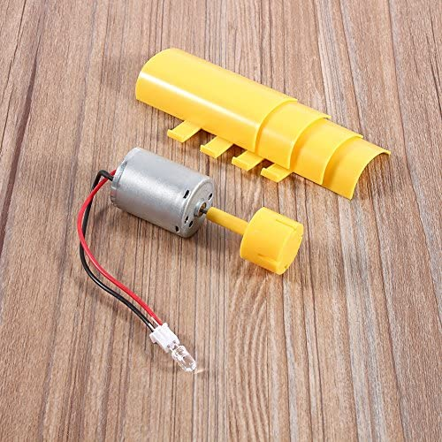Aluprey DIY Kit Small Motor Vertical Wind Turbines Blades Breeze Electricity Generator