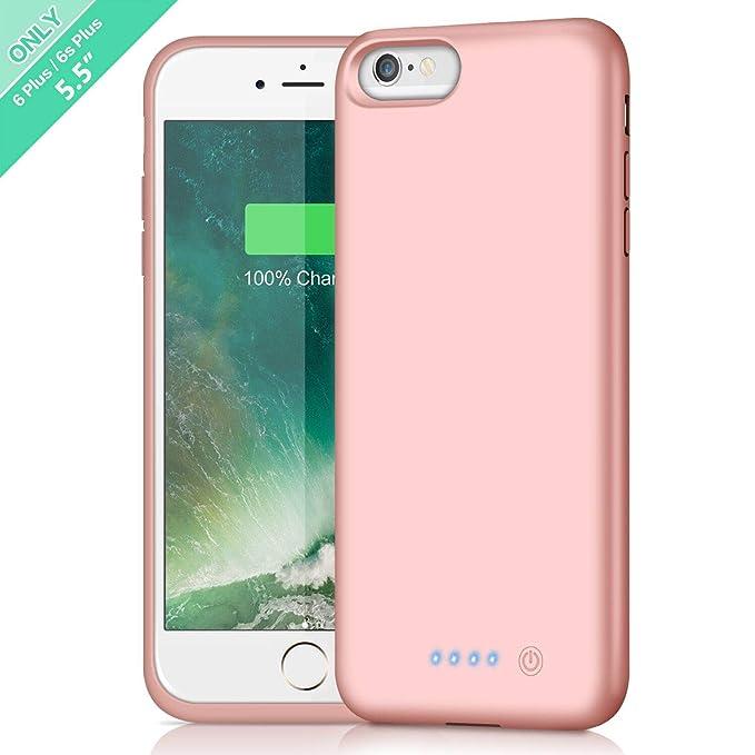 big sale 93579 0390b Battery Case for iPhone 6s Plus/6 Plus,8500mAh Portable Rechargeable  Charging Case External Battery Pack for iPhone 6Plus/6sPlus Protective  Charger ...