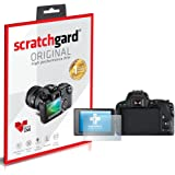 Scratchgard Ultra Clear Screen Protector for Canon EOS 200D (Multicolour)