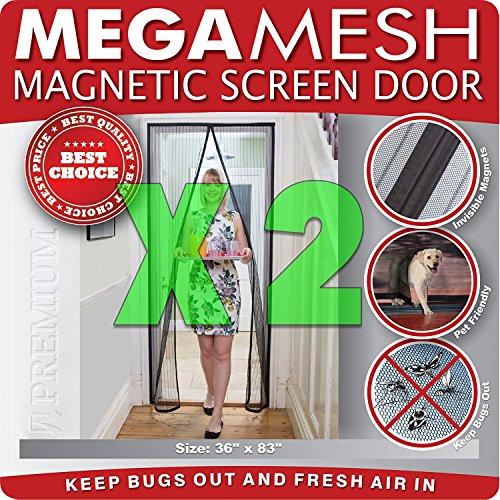 Pack Magnetic Screen Door Reinforced