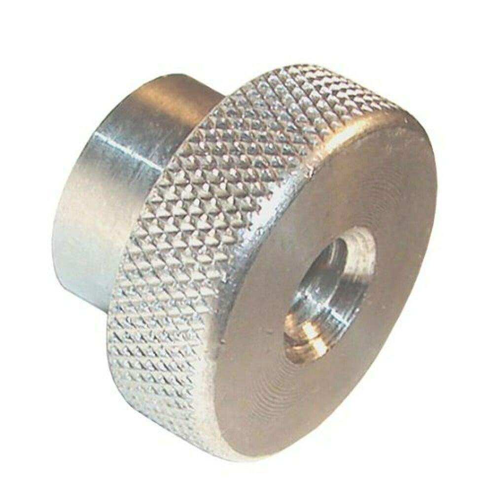 Stainless Steel Knurled Head Nuts, Inch Size, 4-40 Thread Size, 3/8'' Leng by IM Vera