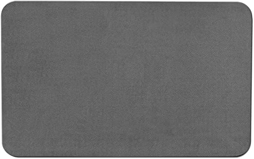 Amazon Com House Home And More Skid Resistant Carpet Indoor Area Rug Floor Mat Gray 2 Feet X 3 Feet Home Kitchen