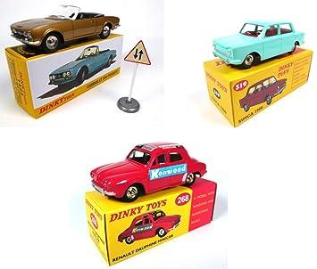 Dinky 1000 Peugeot Minicab Deagostini Bleue Norevréf Atlas Voitures Panneau De KenwoodSimca Cabriolet Dauphine ToysRenault Lot 3 504 0OXN8PkZnw