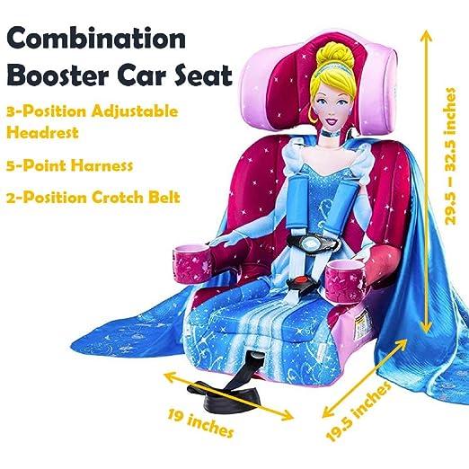 Amazon.com : KidsEmce 2-in-1 Harness Booster Car Seat, Disney ...