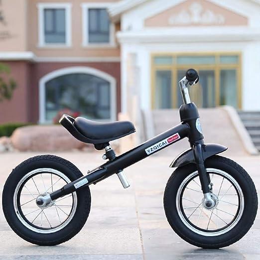 MENGLJ Bicicleta Deslizante para Niños Sin Pedales Bebé para Niños ...