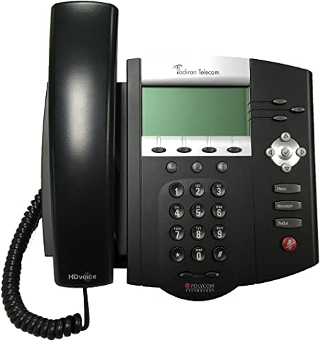 Polycom SoundPoint IP 430 SIP AC Phone Pack of 5