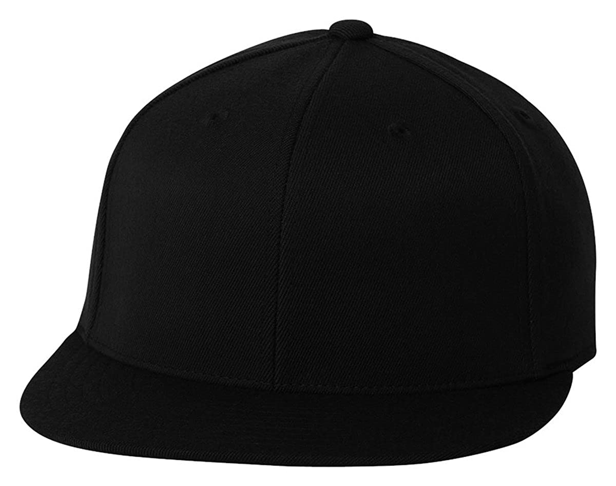 4a8525297ad Premium Original Blank Flexfit Flatbill Fitted 210 Hat  Amazon.ca  Clothing    Accessories