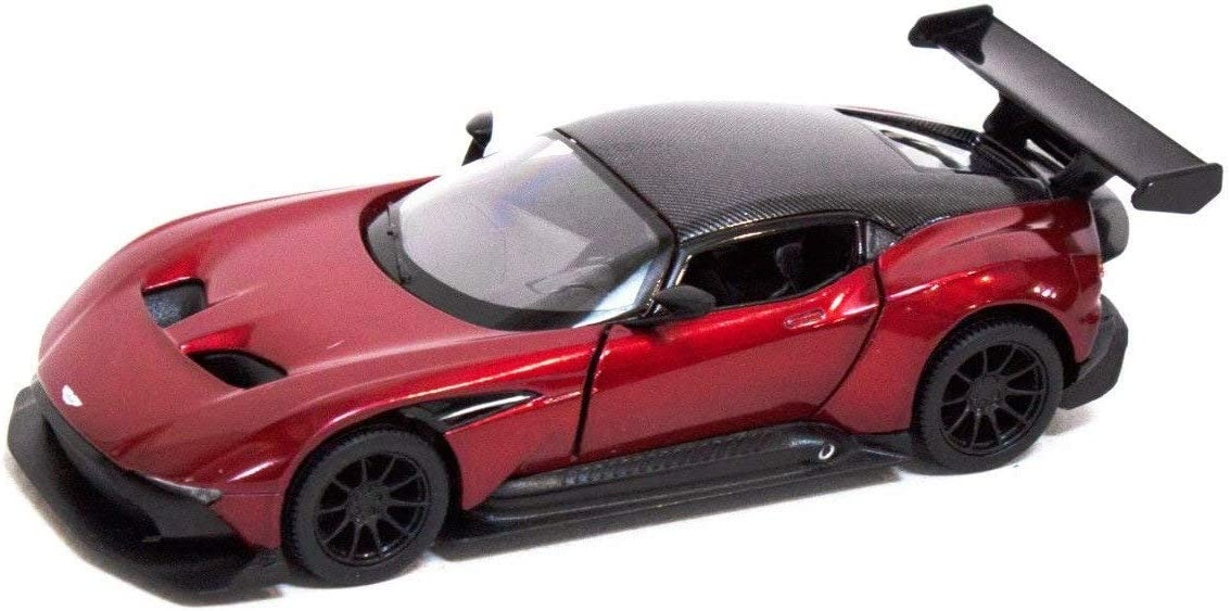 Kinsmart 1 38 Die Cast Aston Martin Vulcan Car Metal Red Model With Box Collection Christmas New Gift Amazon De Spielzeug