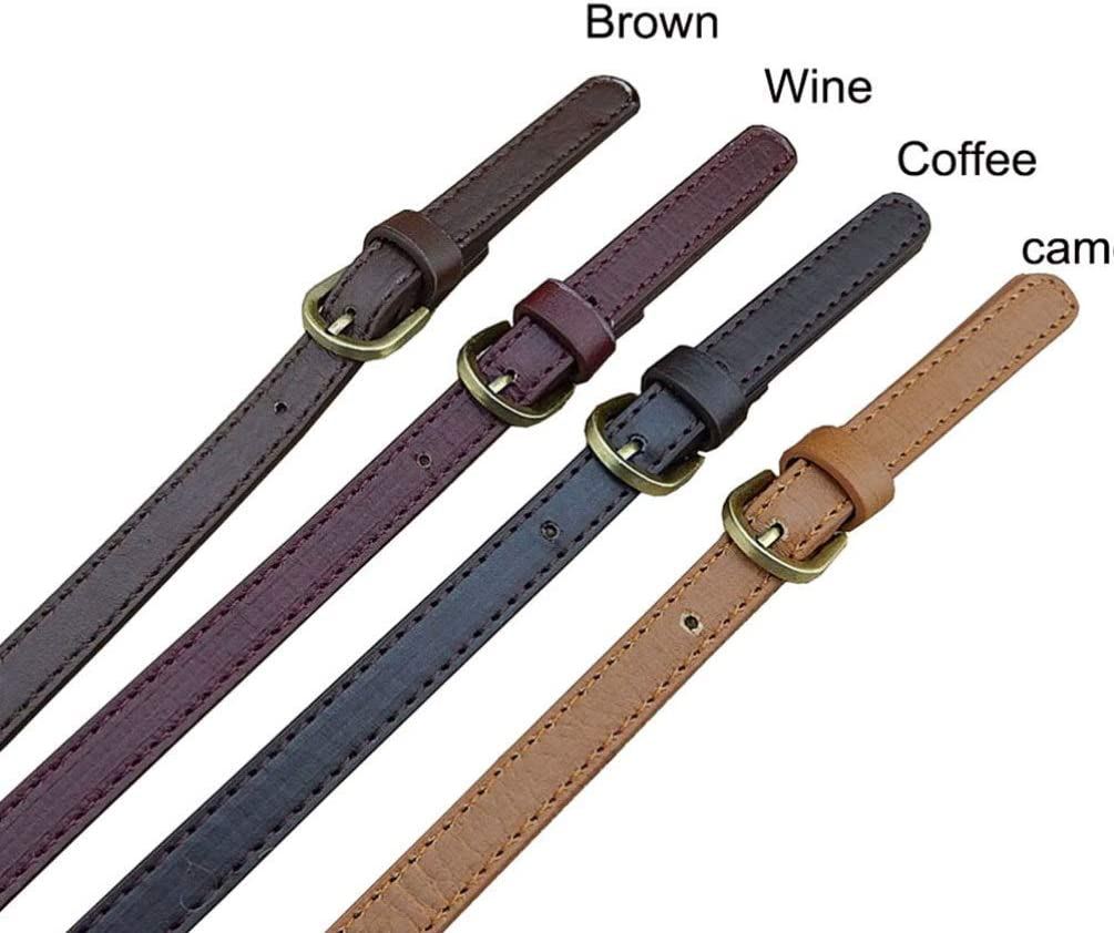 Supvox Wide PU Leather Purses Straps Adjustable Handbags Shoulder Bag Strap Replacement Handles Purse Leather Replacement Handbags Shoulder