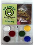 Face Paint Kit - Water-based No Lead 6 Primary Color Palette Highest Child Safety Rating Hypoallergenic, Perfect for Halloween, Makes Your Play dates Even Better, Made in the US …