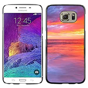 LECELL -- Funda protectora / Cubierta / Piel For Samsung Galaxy S6 SM-G920 -- Sunset Beautiful Nature 48 --