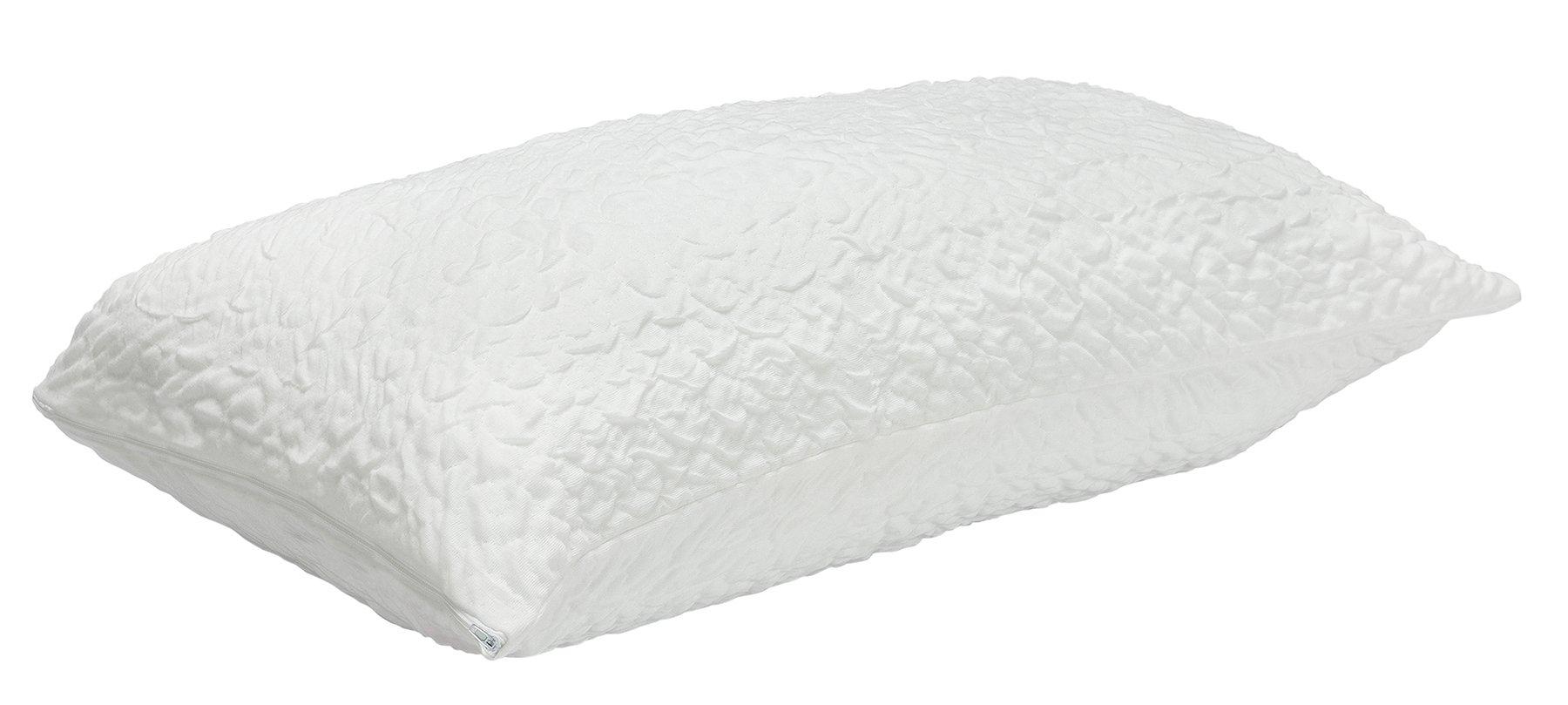 Pikolin Home - Funda protector de almohada bielástica, antiácaros, transpirable, 40 x 75