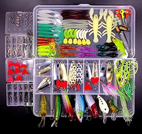Fishing tackle box full for sale only 4 left at 65 for Used fishing gear for sale