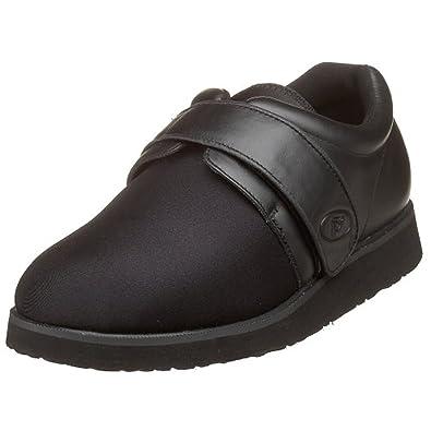 Propet Men's LifeWalker Shoe Black 14 X (3E) & Oxy Cleaner Bundle