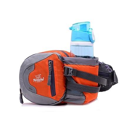 Sport Hüfttasche mit Doppel Flaschenhalter Gürteltasche Lauftasche Bauchtasche