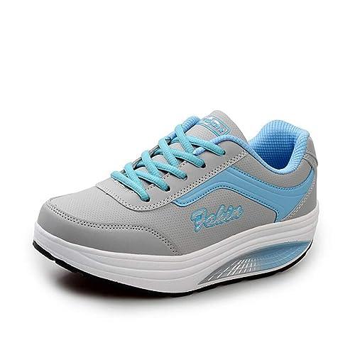 venta al por mayor mayor descuento buscar genuino Plataformas para mujeres Zapatillas de tenis para caminar ...