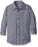 French Toast Boys' Long Sleeve Poplin Dress Shirt