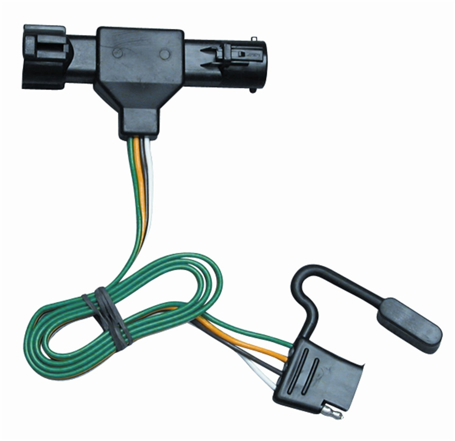 amazon com vehicle to trailer wiring connector for 86 92 ford rh amazon com ford terminal connectors ford wiring connector pins