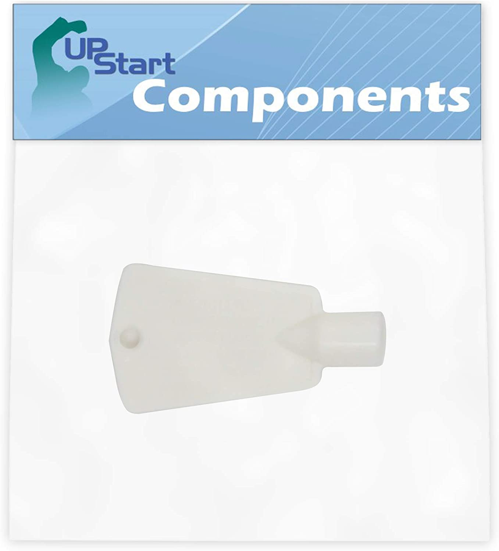 297147700 Freezer Door Key Replacement for Frigidaire FFU17FC5CW0 Freezer - Compatible with 297147700 Lock Key - UpStart Components Brand