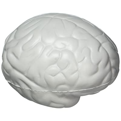Brain Stress Toy - Gray by Ariel: Toys & Games