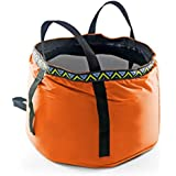 GKSELLING 12L Portable Folding Wash Basin, Lightweight and Durable Compact Collapsible Foldable Water Bucket Container for Camping Hiking Fishing Travelling etc.
