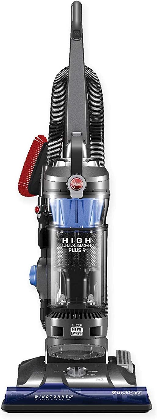 Hoover WindTunnel 3 High Performance Plus Bagless Corded Upright Vacuum UH72615 Blue