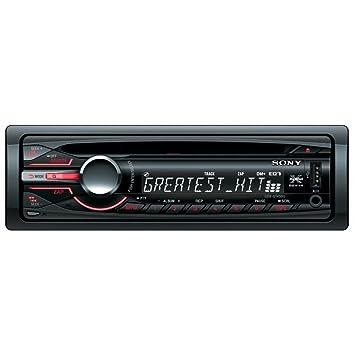 Sony CDXGT450U - Radio CD/mp3 para coche (con entrada auxiliar y USB frontales): Amazon.es: Electrónica