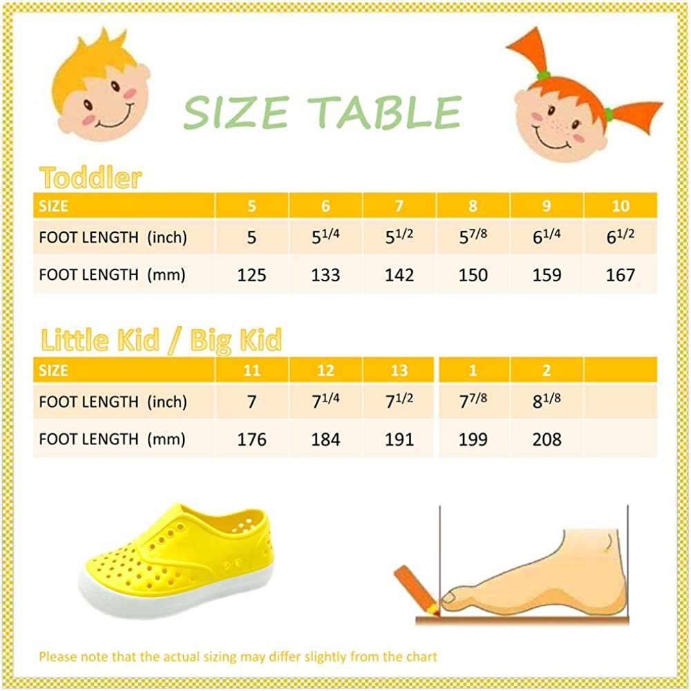 PEBBLES SHOES Kids /& Toddler Boys /& Girls Waterproof Breathable Slip On Sneaker EVA Upper Material /& Odor Resistant Footbed with Arch Support Flexible and Lightweight Synthetic Shoe