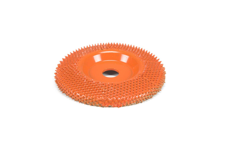 101cm Flach, Orange Saburrtooth f/ür Winkelschleifer verschiedene Versionen Raspelscheibe 4