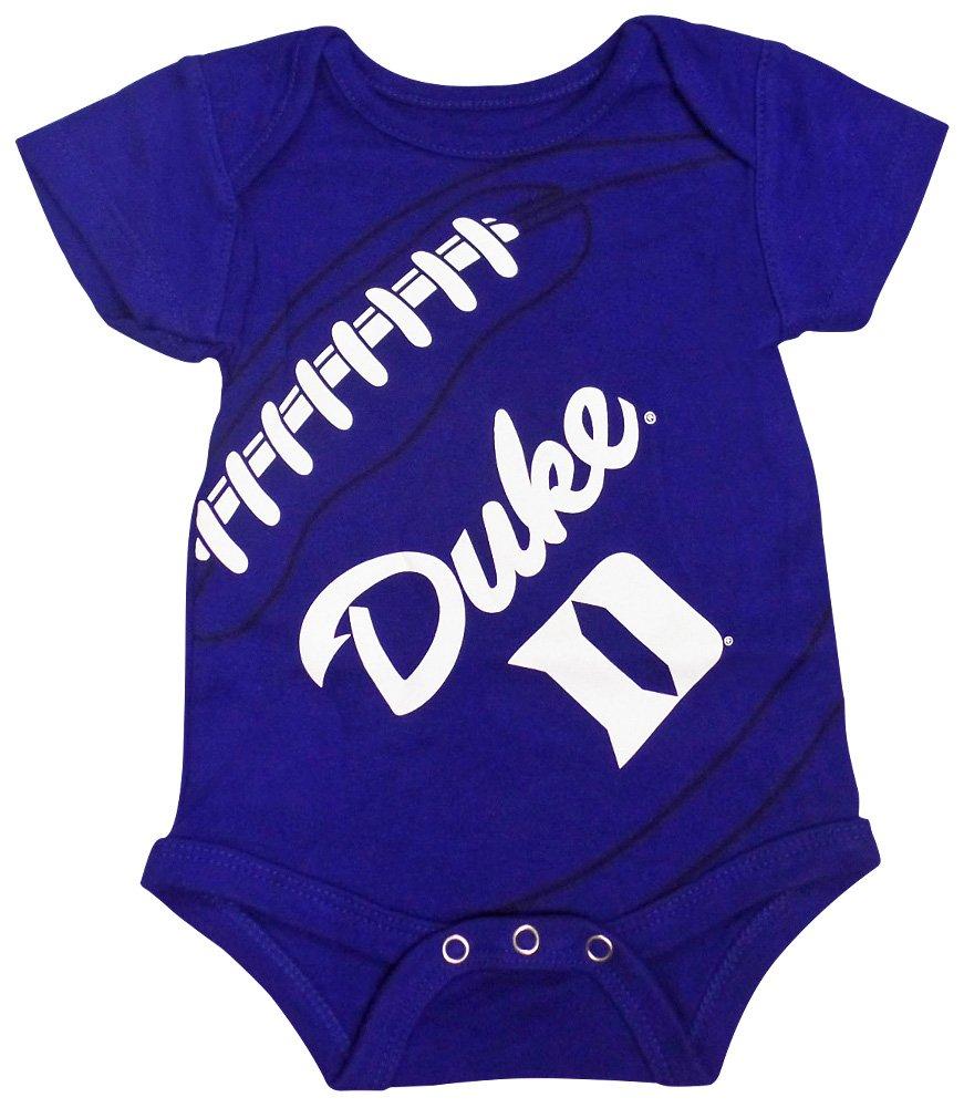 Outerstuff Duke Blue Devils Baby Boys S//S Team Logo Creeper Onesie