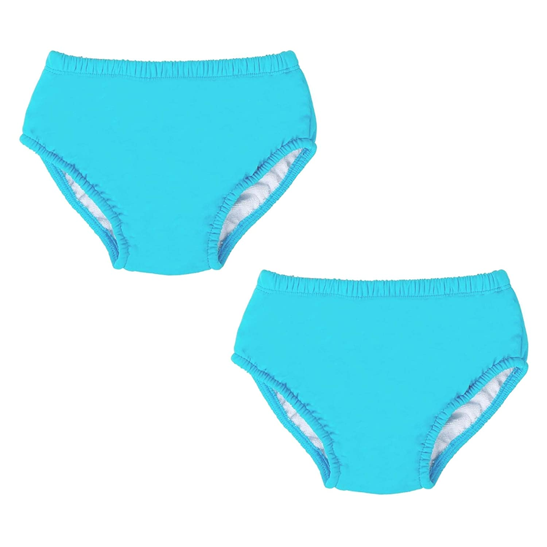 Two Bare Feet Reusable Swim Nappy//Swim Shorts Neoprene Lycra 2 Pack 12-18months Swim Nappy: Red, M
